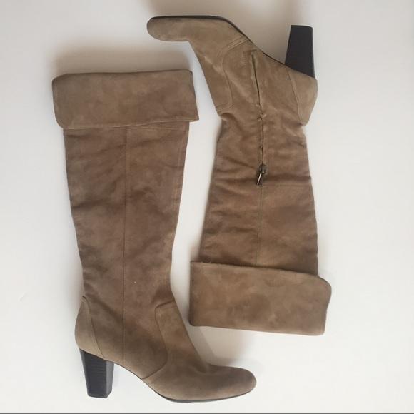 2dff89e4da4 Suede Boots by Bandolino Sz 8.5 NWT